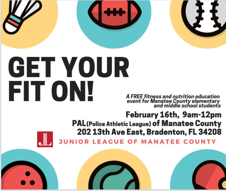 Junior League of Manatee County - Get Your Fit On!